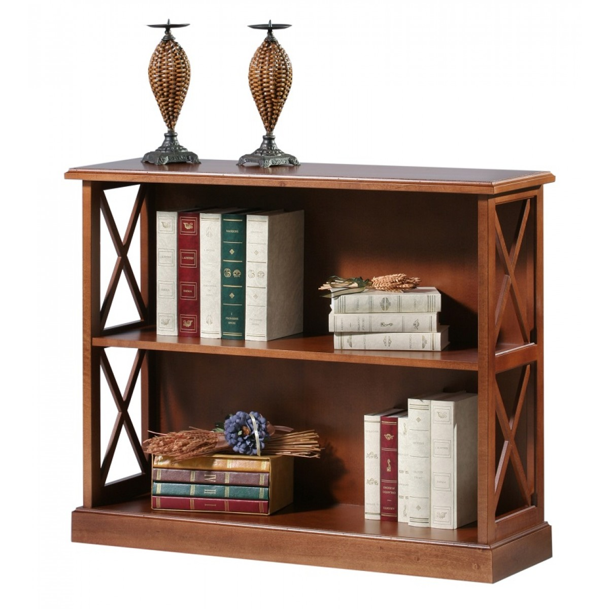 Short Bookcase Sofa Table