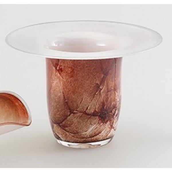Mouth blown glasses