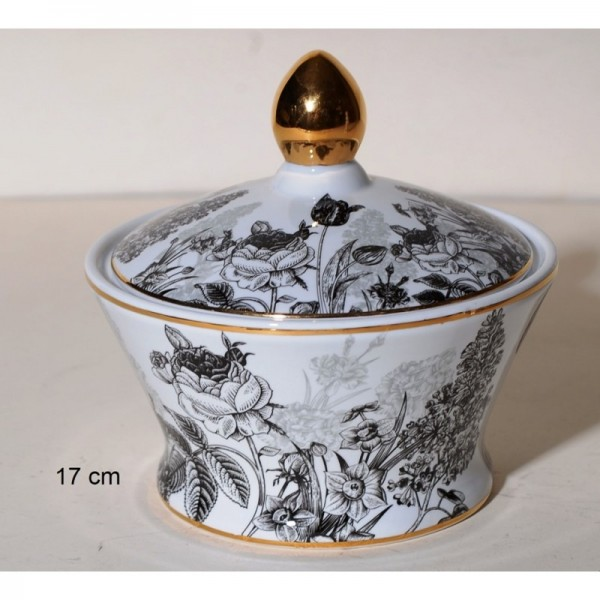 Porcelain decorative items