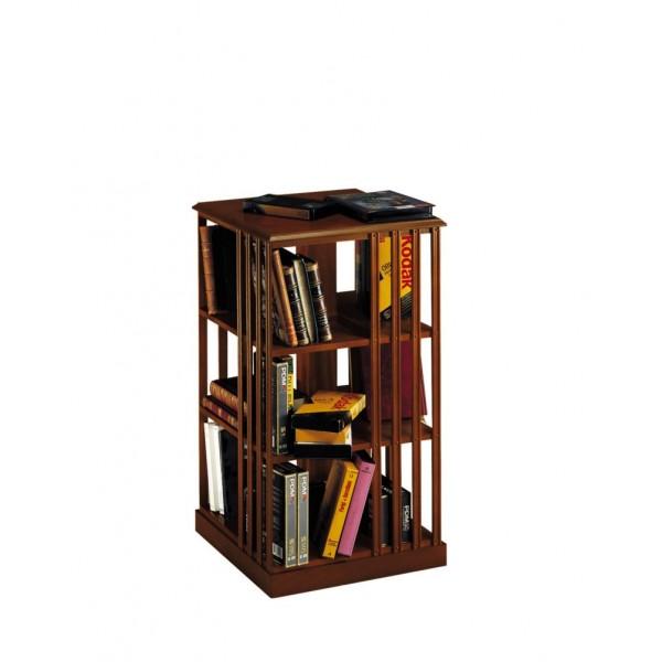 SWIVELLING BOOKCASE SMALL FURNITURE - COMPLEMENTI DI CASA