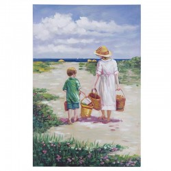 CANVAS MUM WITH KID PAINTINGS-CANVASES- PICTURES